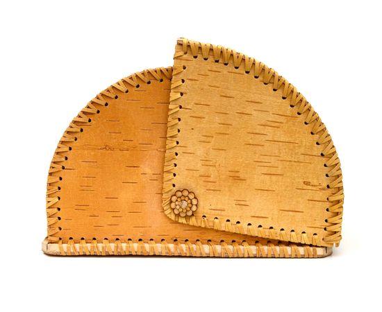 """Хлебница из бересты большая """"Рябина"""", фото , изображение 6"""