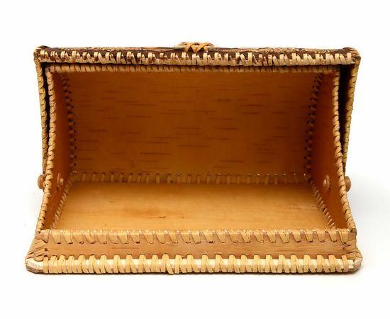 """Хлебница из бересты """"У самовара"""", фото , изображение 5"""
