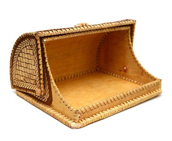 """Хлебница из бересты """"Мишки в малине"""", фото , изображение 3"""