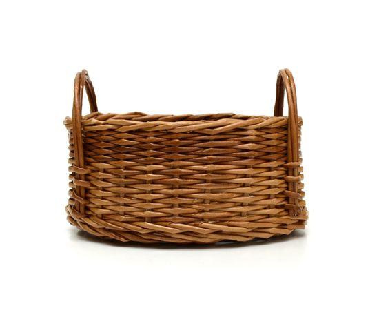 Корзинка плетеная из лозы. Конфетница, фото , изображение 3