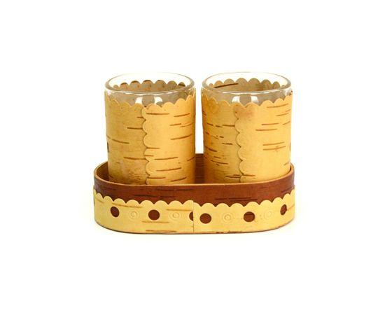 Набор декорированных стопок, фото , изображение 3
