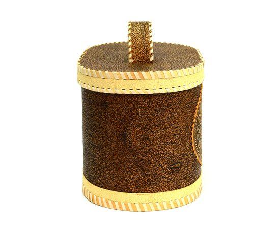 """Хлебница - короб из бересты """"Глухарь"""" с ручкой, фото , изображение 5"""