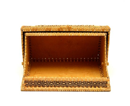 Хлебница из бересты «Деревенские подсолнухи», фото , изображение 3