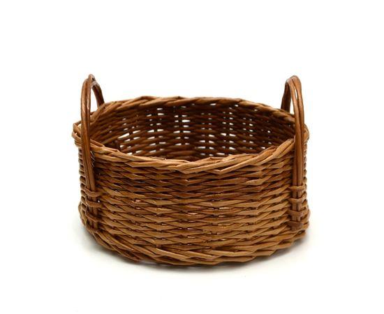 Корзинка плетеная из лозы. Конфетница, фото , изображение 2