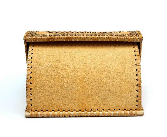 Хлебница из бересты «Деревенские подсолнухи», фото , изображение 6