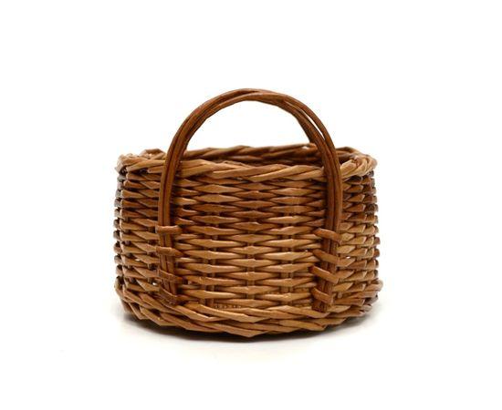 Корзинка плетеная из лозы. Конфетница, фото , изображение 4