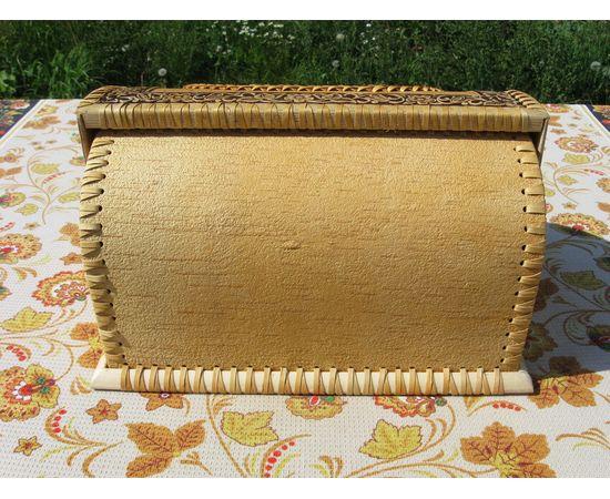 """Хлебница из бересты """"Урожай"""", фото , изображение 7"""