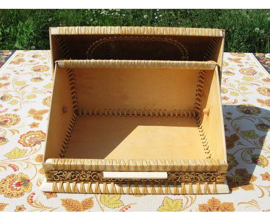 """Хлебница из бересты """"Урожай"""", фото , изображение 6"""