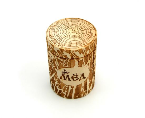 """Бочонок для меда """"Пенек"""" 0,5 кг, фото , изображение 3"""