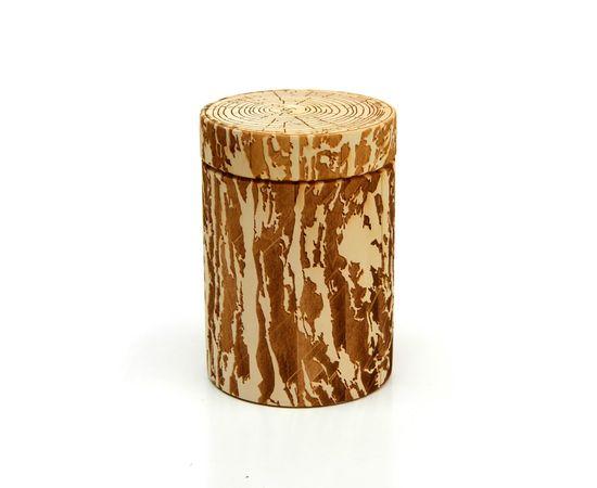 """Бочонок для меда """"Пенек"""" 0,5 кг, фото , изображение 4"""