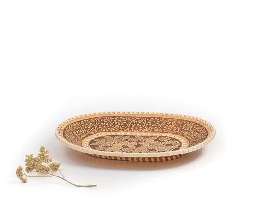 Тарелка овальная «Бабочки», фото , изображение 2