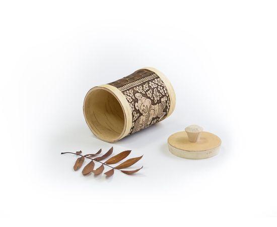 """Туес для меда """"Олимпийский мишка"""" 500 мл, фото , изображение 3"""
