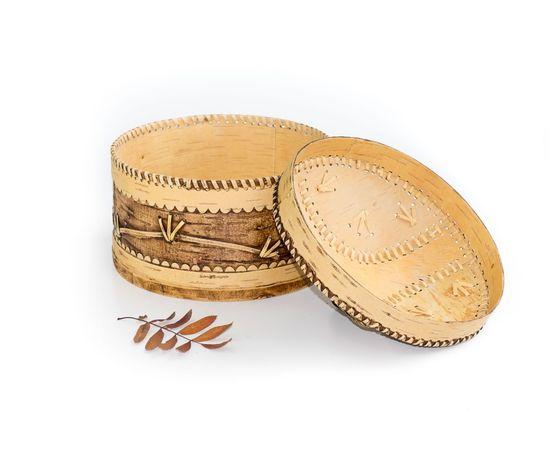 Короб для муки из бересты, фото , изображение 2