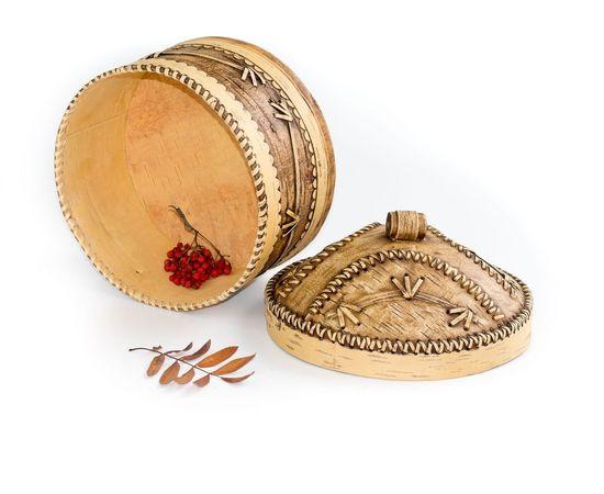 Короб для муки из бересты, фото , изображение 3