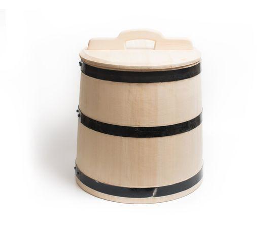Кадка из кедра для засолки 25 литров, фото , изображение 2