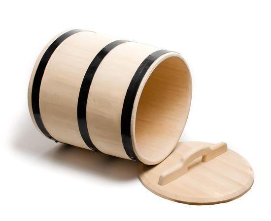 Кадка из кедра для засолки 25 литров, фото , изображение 3