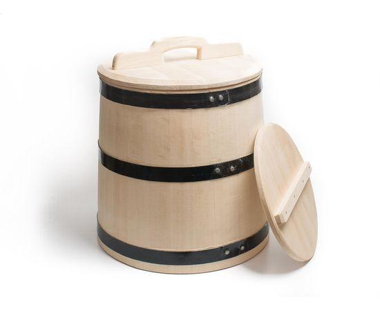 Кадка деревянная для солений 30 литров, фото , изображение 5