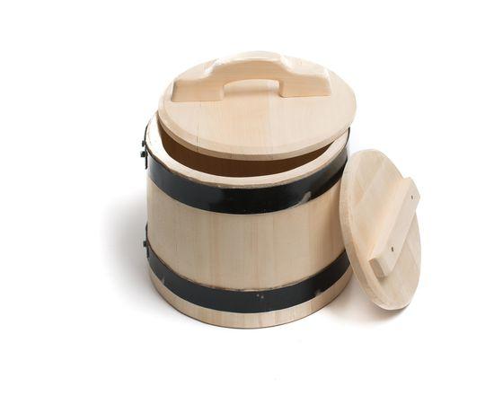 Кадка деревянная из кедра для засолки 5 литров, фото , изображение 3