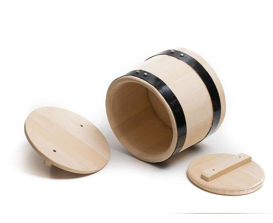 Кадка деревянная из кедра для засолки 5 литров, фото , изображение 4