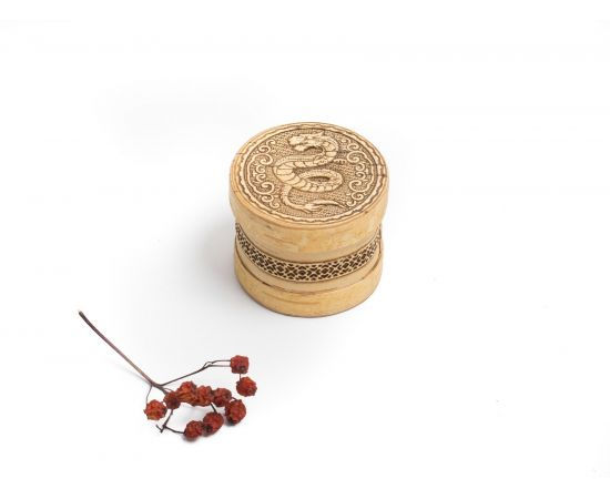 Шкатулка для украшений маленькая «Дракон», фото