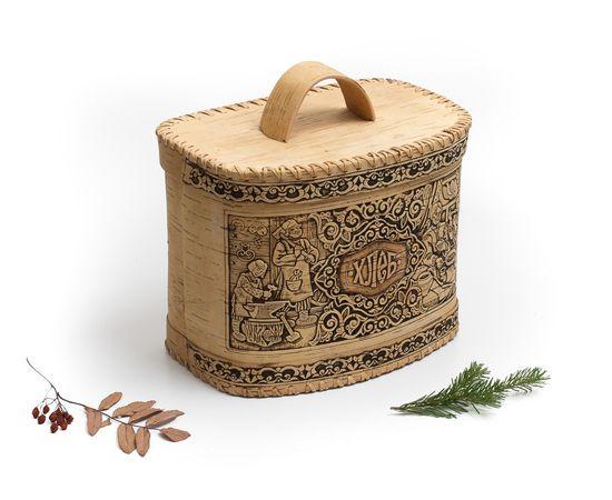 Хлебница из бересты «Хлеб», фото , изображение 2
