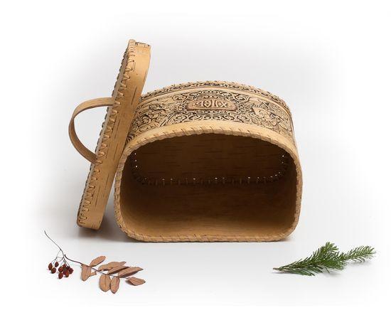 Хлебница из бересты «Хлеб», фото , изображение 4