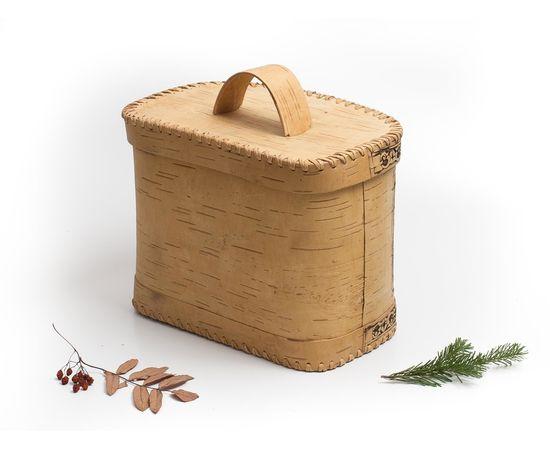 Хлебница из бересты «Хлеб», фото , изображение 3