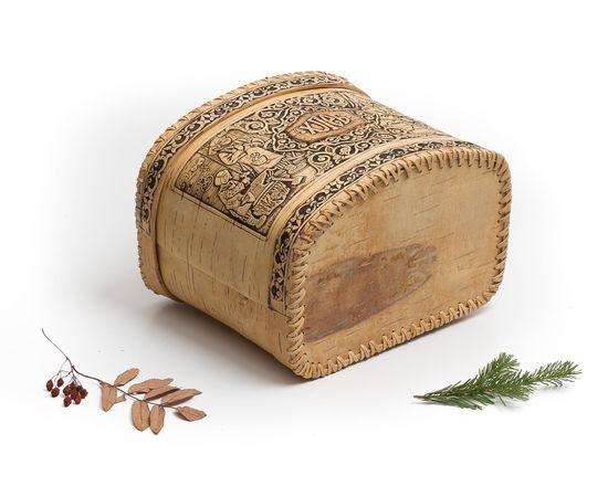 Хлебница из бересты «Хлеб», фото , изображение 5