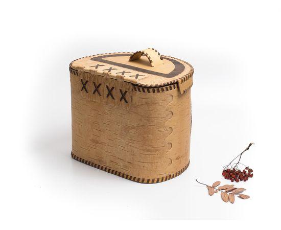 """Берестяной короб """"Застолье"""", фото , изображение 5"""