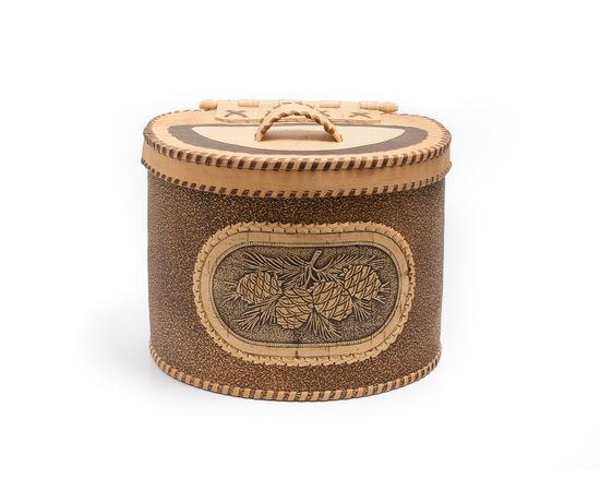Берестяной короб «Шишки», фото