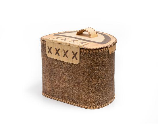 Берестяной короб «Шишки», фото , изображение 3