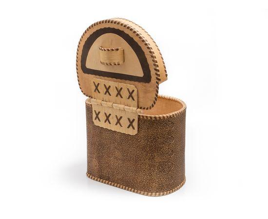 Берестяной короб «Шишки», фото , изображение 4