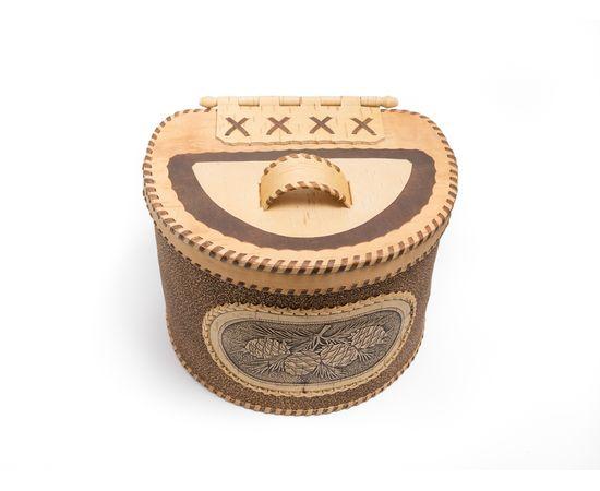 Берестяной короб «Шишки», фото , изображение 7