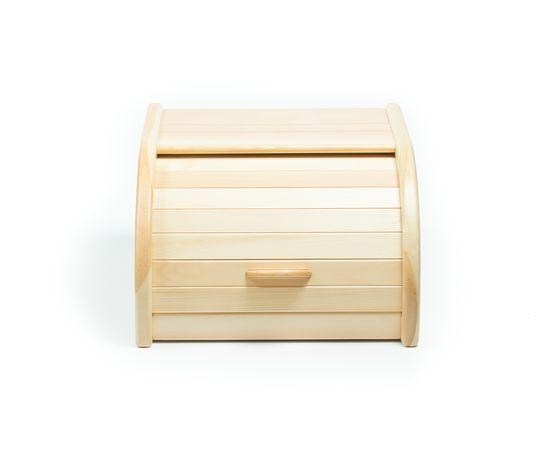 Хлебница деревянная из кедра Средняя, фото , изображение 2