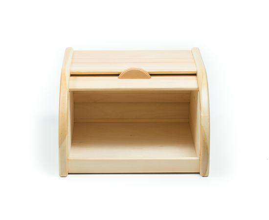 Хлебница деревянная из кедра Средняя, фото , изображение 5