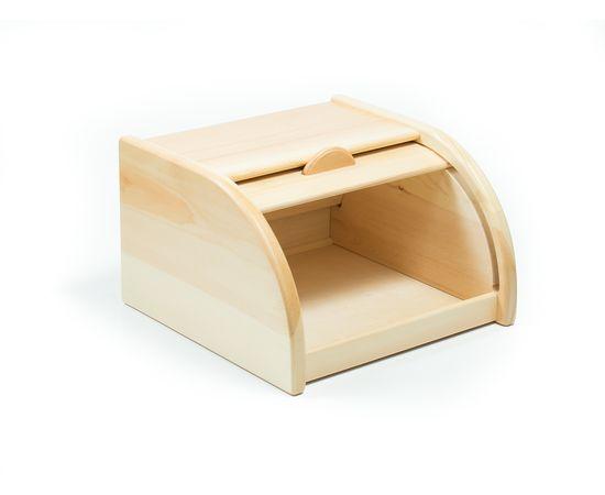 Хлебница деревянная из кедра Средняя, фото , изображение 4