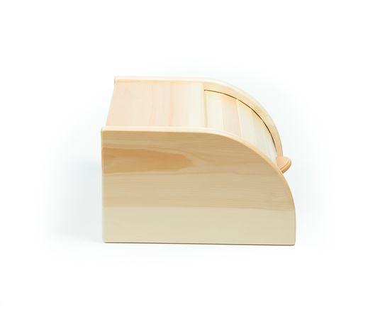 Хлебница деревянная из кедра Средняя, фото , изображение 3