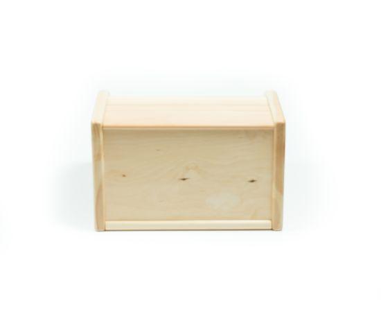 Хлебница деревянная из кедра Средняя, фото , изображение 6