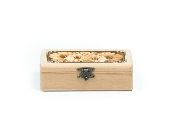 Шкатулка деревянная «Ромашки», фото , изображение 2