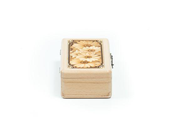 Шкатулка деревянная «Ромашки», фото , изображение 6