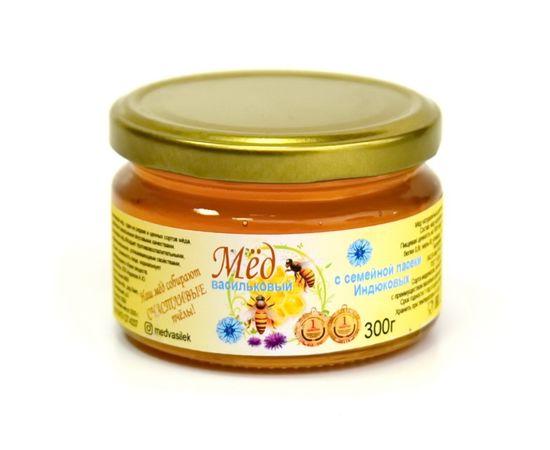 Мед васильковый 300 г, фото