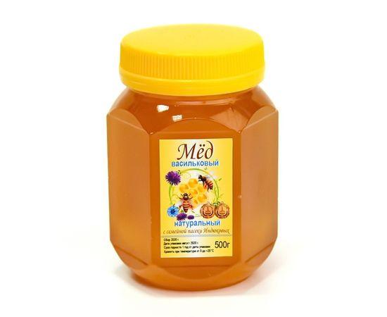 Мед васильковый 500 г, фото