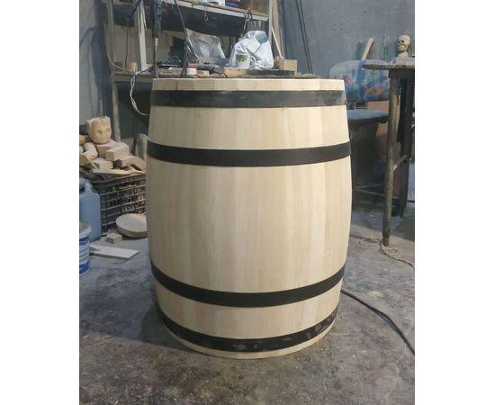 Бочка деревянная, декоративная для дачи, сада, магазина, интерьера 100-150-200 л, фото