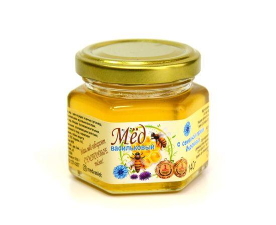 Мед васильковый 140 г, фото